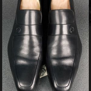 Gucci slip-on loafers.